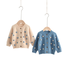 autumn winter children clothes kids warm coats cute colorful cardigan sweater age for 2 - 8 yrs baby boys girls long sleeve tops boys sweaters high quality baby trui baby girls sweater autumn winter baby warm clothes kids sweater