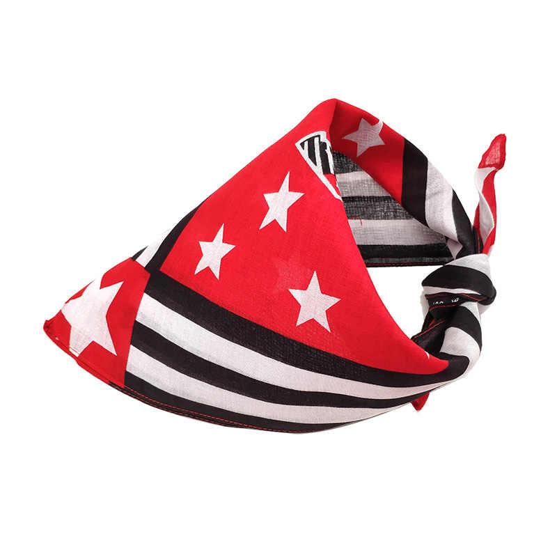 Новая бандана для собак, красная, белая, синяя, мягкая хлопковая бандана, шарф, большой квадратный шарф для средних и больших собак, бандана, ошейник, поставщик