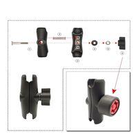 Llave de perilla de seguridad antirrobo Pin-Lock para montaje en RAM, 1