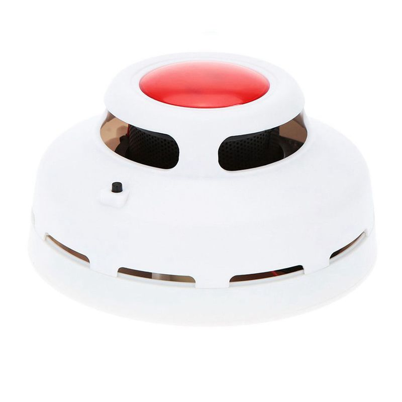 Stable Standalone Combination Carbon Monoxide And Smoke Alarm High Sensitive CO & Smoke Detector For Home Security