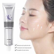 Kore kollajen uyku maskesi nemlendirici Anti-Aging tüm gece nemlendirici uyku maskesi yıkama ücretsiz onarım temizler yüz maskesi TSLM1