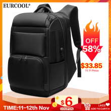 EURCOOL Travel Backpack Mochila Laptop Usb-Charging-Port Multifunction Large-Capacity