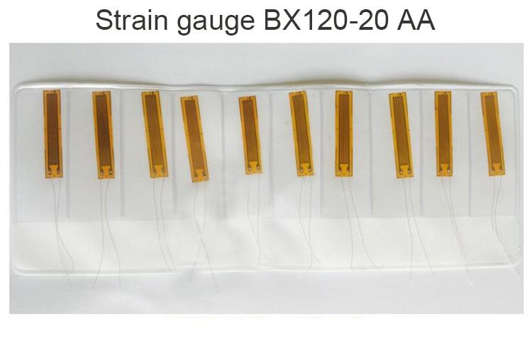 10pcs BX120-20AA Foil Resistance Strain Gauges / Strain Gauges / Concrete Strain Gauges