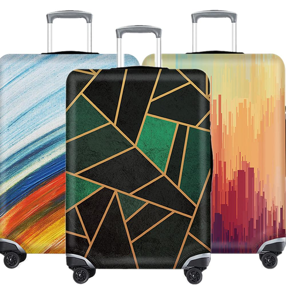 XL Colorful Suitcase Covers Travel Accessories Elastic Protective Cover Case Luggage