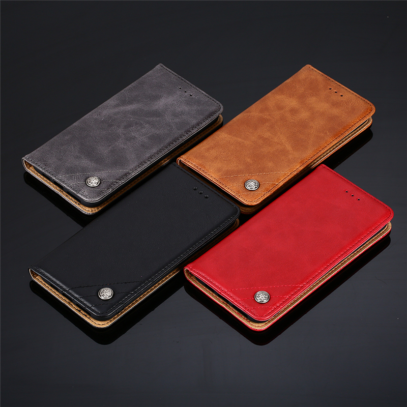 For Cover Asus Zenfone 6 Case Cross Leather Flip Wallet Phone Bag ZS630KL