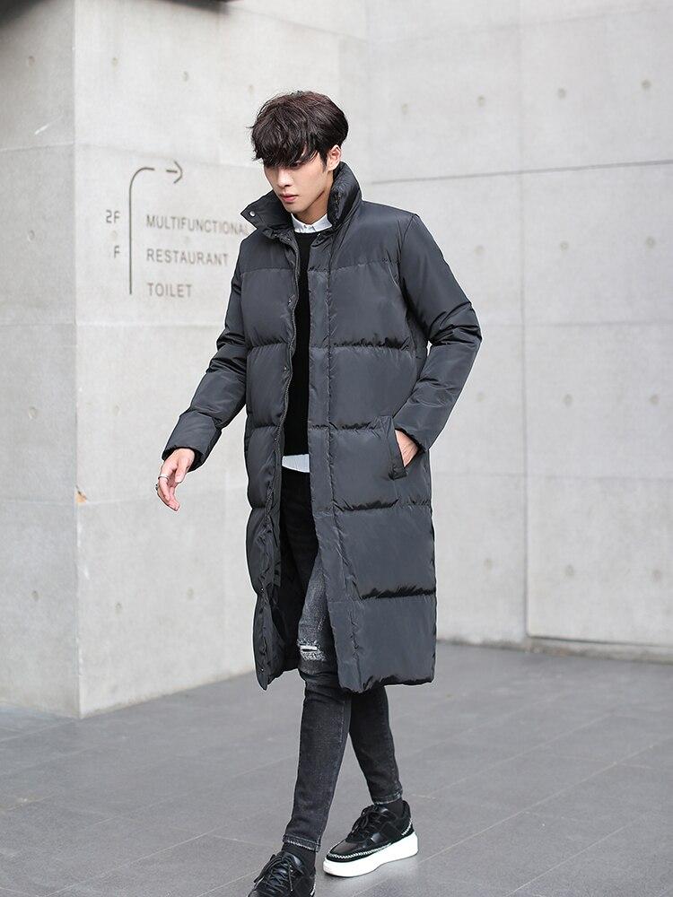 2019 New Brand 90% Duck Down Coat Men Winter Down Jacket Clothes Streetwear Korean Down Parka Thick Warm Overcoat 01010