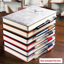 360 Pages Super Thick Wax Sense Leather A5 Journal Notebook Daily Business Office Work Company Notepad Book Logo School Supplies