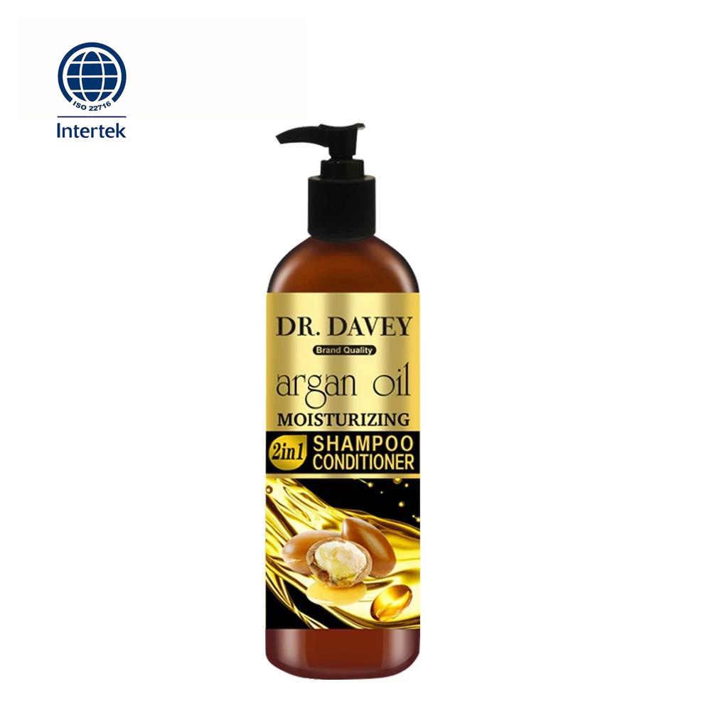 500ml Argan yağı nemlendirici 2in1 şampuan ve saç kremi Saç Bakımı Anti Anti-kaşıntı, Besleyici Yardımcı Olur Güçlendirmek Maksimum Temizleme