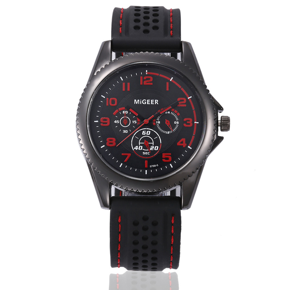 Watch Men Watches Top Brand Luxury Silicone Band Mechanical Watch Military Army Business Reloj Hombre Male Clock Man Watch 2019