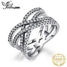 Jewelrypalace 925 فضة متداخلة بيان خاتم كما مجوهرات جميلة جديدة رائجة البيع للنساء أفضل الهدايا