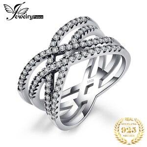 Image 1 - Jewelrypalace Bạc 925 Đan Xen Vào Nhau Tuyên Bố Vòng Như Beatiuful Trang Sức Mới Bán Cho Nữ Quà Tặng Tốt Nhất