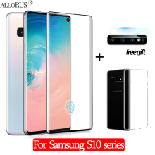 3-in-1 Case + Camera Tempered Glass For Samsung S10-e S10 Plus Screen Protector Samusng A50 Protective