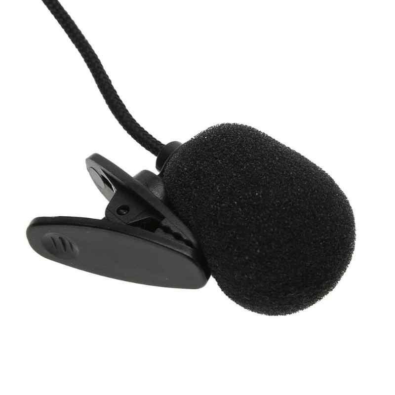 נייד מיני קליפ על דש מיקרופון דיבורית 3.5mm הקבל Wired מיקרופון למחשב מחשב נייד Lound רמקול