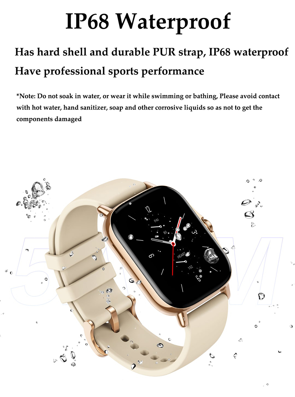 H890b9db6ba4e47789576512232e13f758 For Xiaomi IOS Apple Phone 1.78inch Smart Watch Android Men IP68 Waterproof Full Touch Woman Smartwatch Women 2021 Answer Call