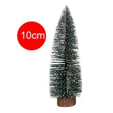 Hot Christmas Tree arbol de navidad New Year's Mini Christmas Tree Small Pine Tree Desktop Mini Christmas Home Hotel Decor Gift(China)