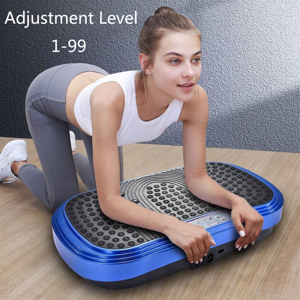 Whole Body Workout Vibration Plate Exercise Machine Fitness Platform Training ems muscle stimulation