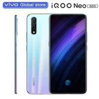 Smartphone d'origine vivo iQOO Neo 855 6GB 64GB Snapdragon 855 Octa Core 4500mAh 33W tableau de bord recharge téléphone portable Android portable