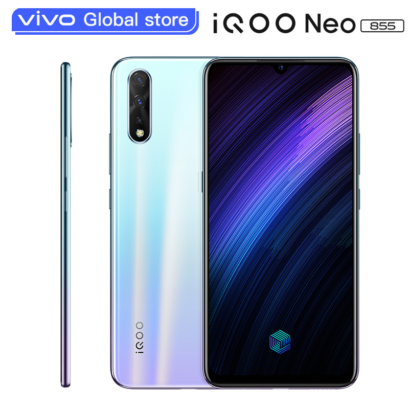 Original Vivo IQOO Neo 855 Smartphone 6GB 64GB Snapdragon 855 Octa Core 4500mAh 33W Dash Charging Celular Android Cell  Phone