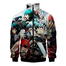 Cloudstyle New Anime Mens Jacket My Hero Academia Hoodie Boku No Cosplay Izuku Sweatshirt Zipper