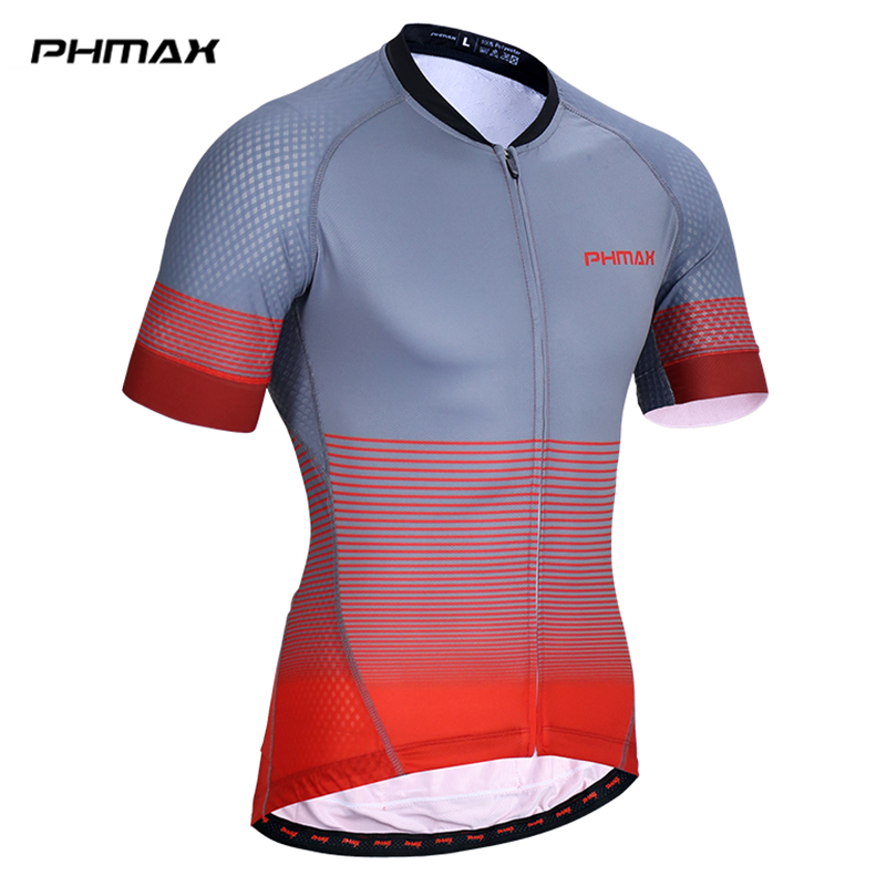PHMAX Quick-Dry Cycling Jersey Mtb Bicycle Clothing Bike Wear Clothing Breathable Maillot Ropa De Ciclismo Cycling Clothing