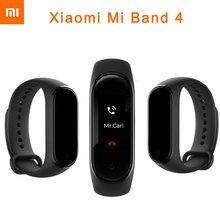 купить Xiaomi Mi Band 4 Global Version Smart Bracelet Fitness Tracker Mi Band4 Wristband 5ATM Waterproof 0.96 OLED Screen Heart Rate дешево