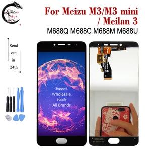 Image 2 - LCD עבור Meizu M3s M3 LCD תצוגת מסך מגע Digitizer הרכבה M3s מיני תצוגת Meilan 3 3s LCD תצוגה meilan3s החלפה