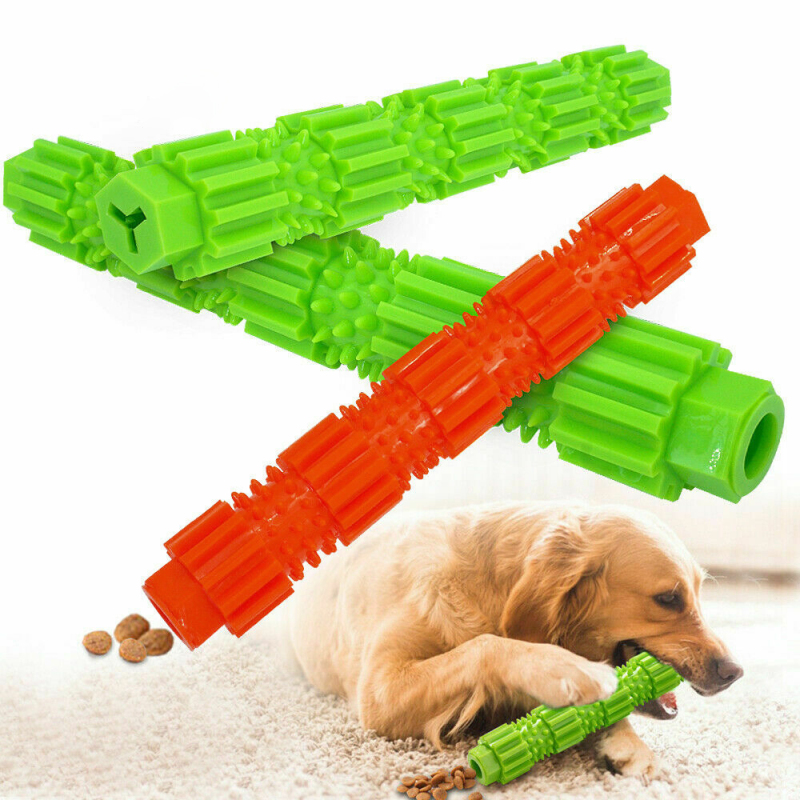 Dog Chew Toy Pet Popular Toys for Aggressive Chewers Treat Dispensing Rubber Teeth Cleaning Toy Dog Toys for Small Dogs