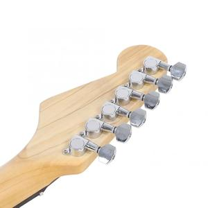Image 5 - ES US FR Electric Guitar 39in Wooden 6 String Electric Guitar Wood Fingerboard for Beginners