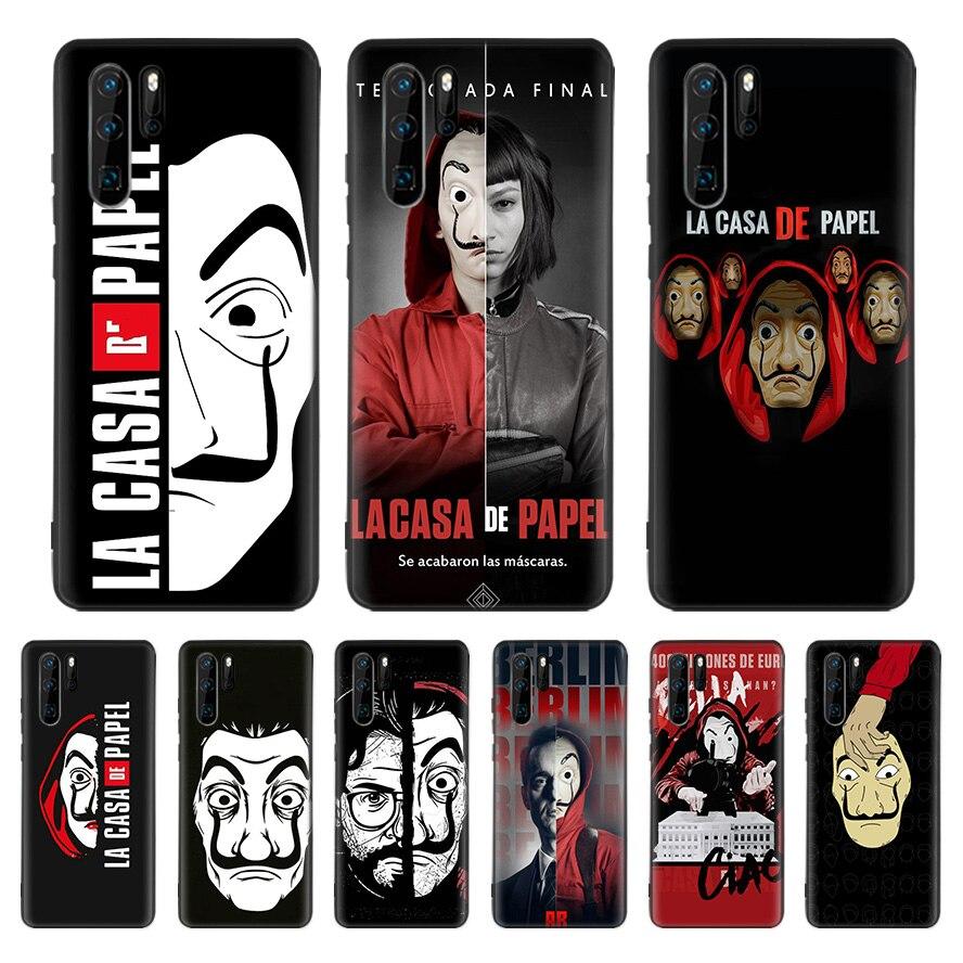 La Casa De Papel Case For Huawei P40 P30 P20 P10 Mate 30 20 10 Pro Lite P Smart Plus Z Cover Phone Shell Coque