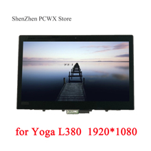 "for L380 Yoga 20M7 20M8 Laptops ThinkPad 13.3"" LCD ASSEMBLIES Touch Screen Original LGD 02DA313 FHD 1920*1080 IPS 72% NTSC Test"