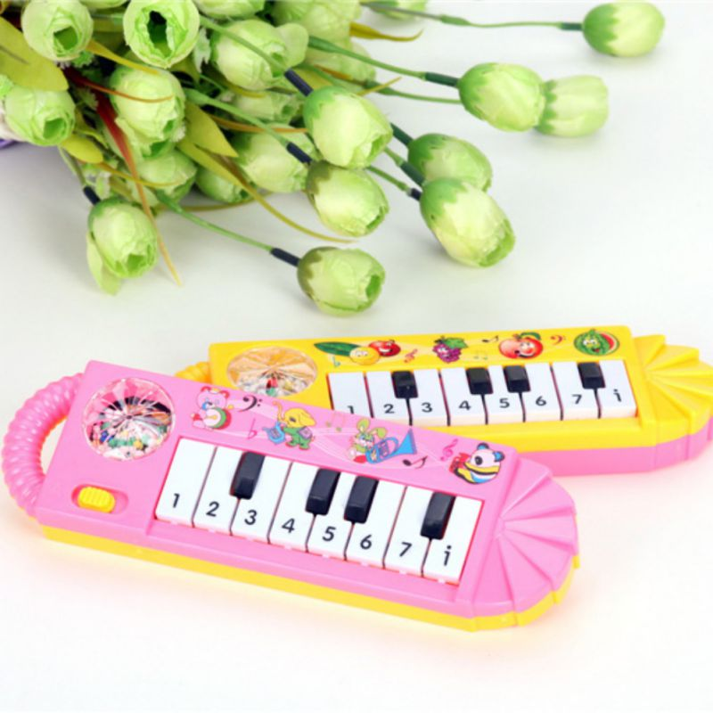 Funny Kids Baby Toy Musical Piano Early Educational Developmental Game Toys Battery Operated