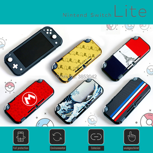 Image 2 - 2020 NEW Nintend Switch Lite Plastic Shell Case for Nintendo Switch Lite Protective Decal Skin Cover Mini