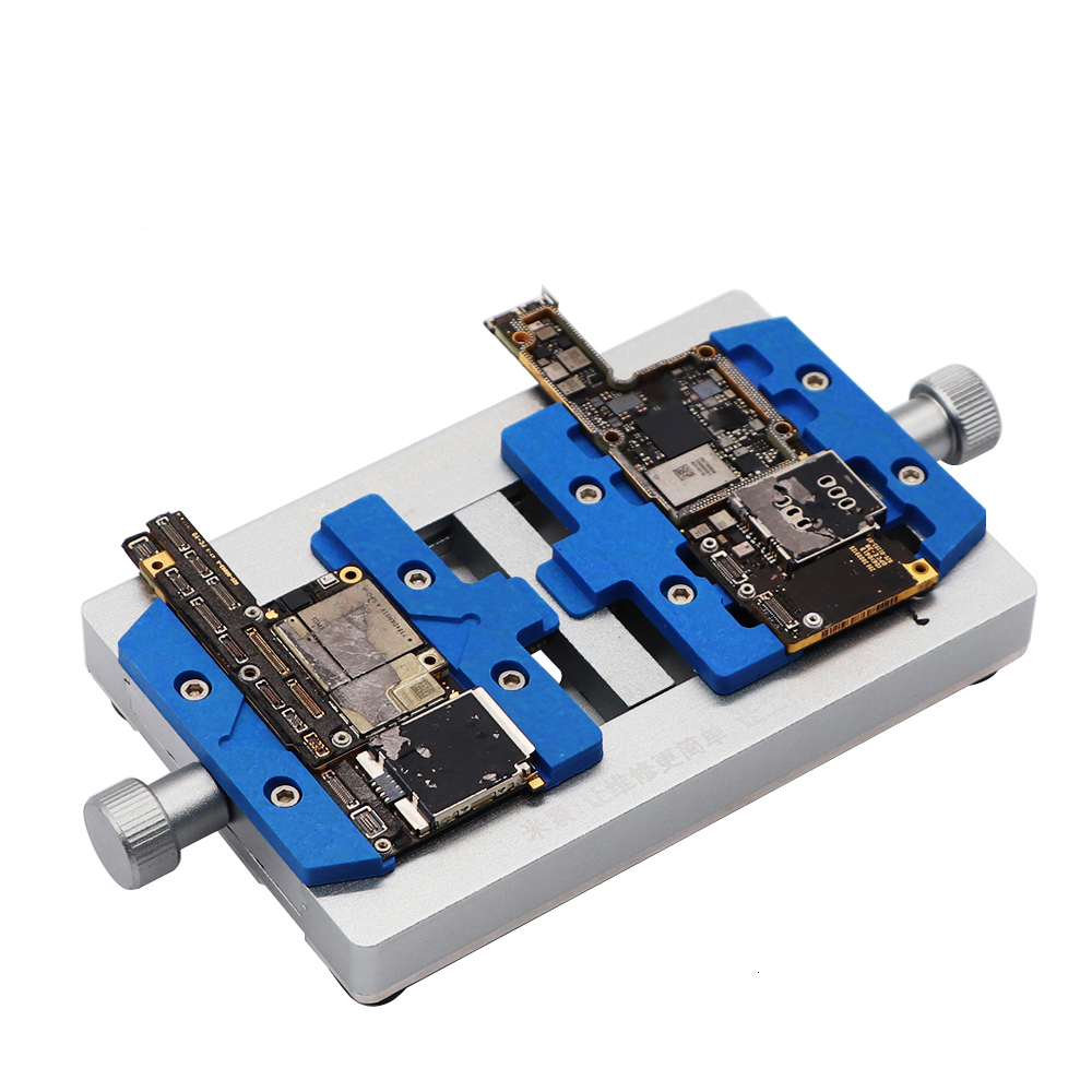 MJ K23 Fixed Clamp Dual Shaft Phone PCB Motherboard Welding Holder for iPhone Repair Tools