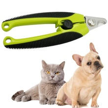 Stainless Steel Nail Clipper Ripple Pet Nail Clipper for Kitten Dog Scissor for Pets Dog Cat Grooming Trimmer Pet Supplies 8inch rainbow pet downward curved shark thinning scissor pet shear grooming clipper pet supplier dog cat hairdressing clipper