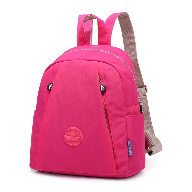 New arrive wholesale fashion casual waterproof nylon backpack #525