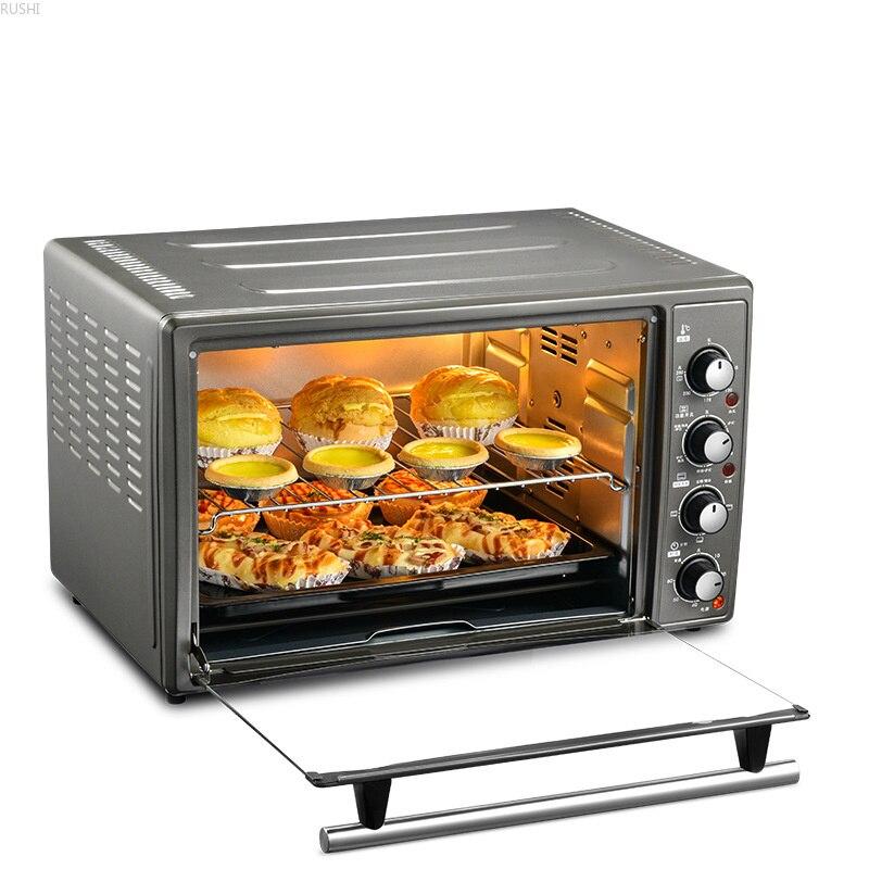 220V 45 L Four À La Maison Appareils De Cuisine Électrique Grille-Pain four à Pizza Four À Boulangerie Mécanique Boulangerie