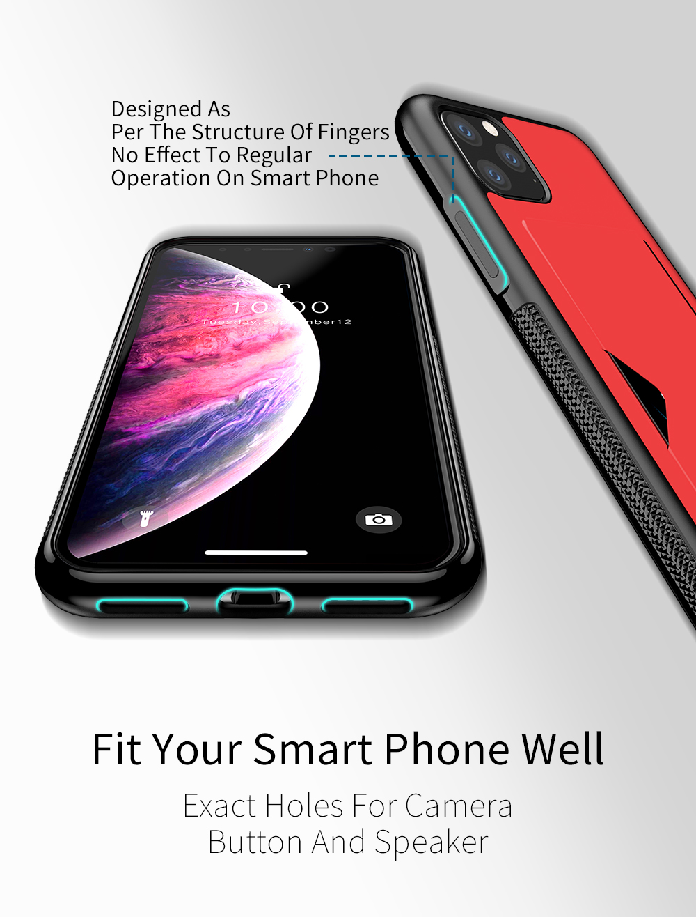 Chirm Card Pocket Case for iPhone 11/11 Pro/11 Pro Max 27