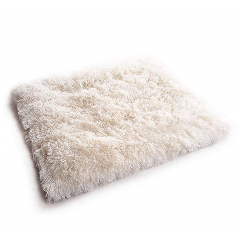 New Soft Cat Bed Rest Dog Blanket Winter Foldable Double use of pet bed matCushion Hondenmand Plush Soft Warm Sleep Mat 4