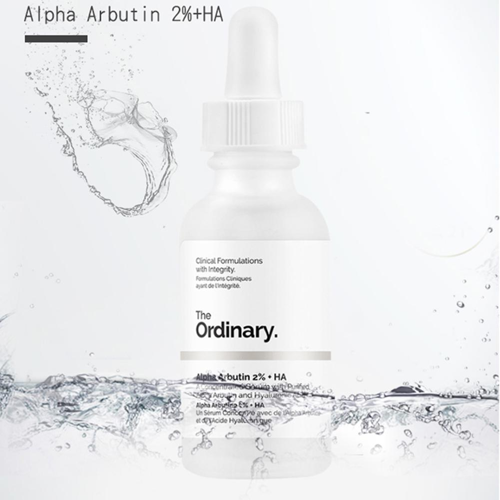 The Ordinary 30ml Serum Alpha Arbutin 2% +HA Serum Target Anti Aging Face Serum Buffet Multi-Technology Peptide Serum Firming