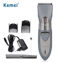 Kemei 6 In 1 Cordless Hair Clipper Professional Beard Trimmer Rechargeable Men Kids Hair Cut Mens Barber Machine USB Trimmers