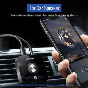 Image 5 - Ugreen سماعة لاسلكية تعمل بالبلوتوث 5.0 استقبال 3.5 مللي متر جاك APTX LL AUX 3.5 جهاز استقبال للموسيقى HiFi محول الصوت لمستقبل بلوتوث السيارة