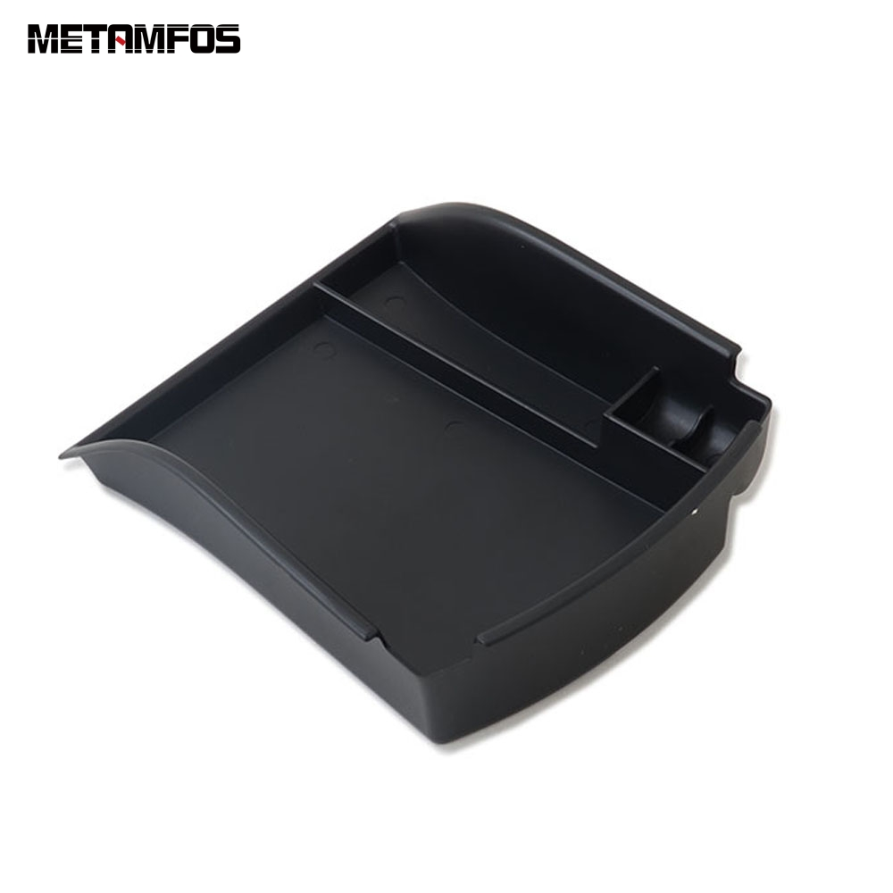 For Hyundai Santa Fe 2019 2020 Center Control Armrest Box Locker Storage Holder Container Interior Accessories Car Styling Parts