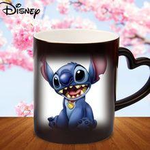 Disney ceramic cup cartoon splicing creative milk cup simple personality printable photo color mug coffee cup collection cup