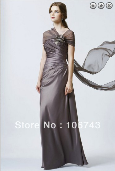 Yes 2016 Free Shipping Hot Formal Elegant Maxi New Fashion Flowers Prom Party Vestidos Formales Long Gowns Satin Evening Dresses