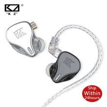 Kz DQ6 3DD Dynamische Metalen In-Ear Oortelefoon Hifi Muziek Sport Headset Noise Cancelling Hoge Resolutie Oortelefoon Voor Edx zsn Pro Z1