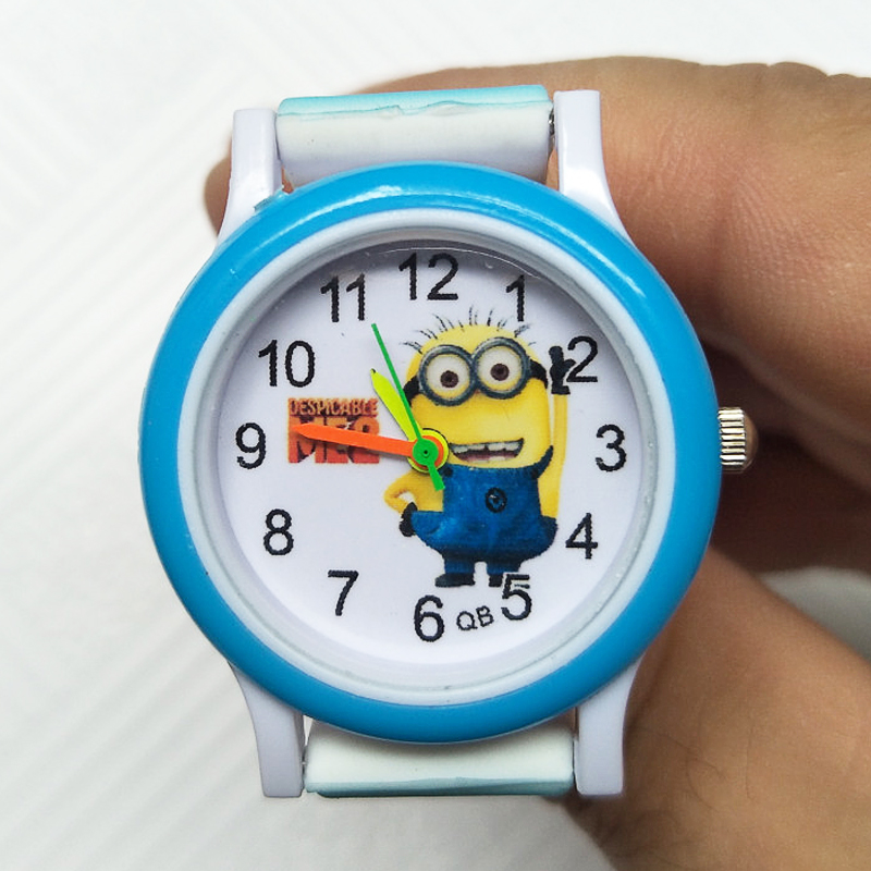 Big Eyes Despicable Me Children Watch Fashion Little Yellow Men Kids Watches Child Boys Girls Gift Students Clock Reloj Infantil