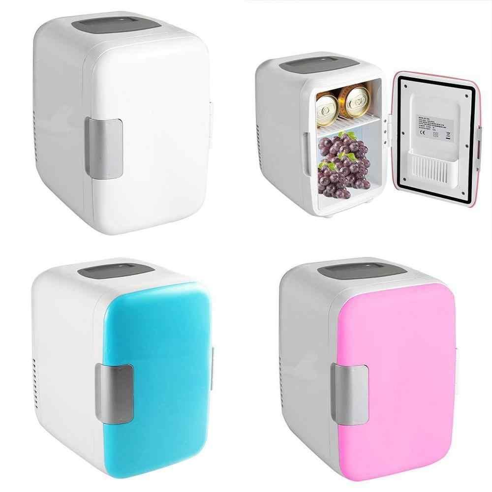 4 L 冷蔵庫加熱 & 冷却家電冷蔵庫冷凍庫クーラーウォーマーオフィスで使用するための