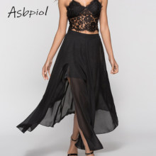 Solid Black Blue Women Long Skirt Summer Mesh Tulle Skirt Simple And Elegant Style High Waist Skirt Female 2019 New Arrival(China)