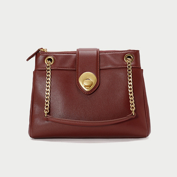 Large Capacity Chain Women's Bag Quality Genuine Leather Shoulder Stylish Messenger Bag Crossbody Bags For Women Sac Main Femme фото