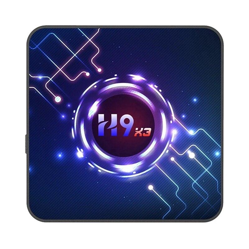 H9 TV Box Android 9.0 S905X3 64-Bit Quad Core Chipset Cortex A55 4/32G TV Set Top Box